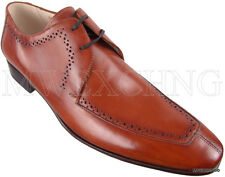 CALZOLERIA ZENOBI MOC TOE OXFORDS EU 40 ITALIAN DESIGNER MENS SHOES