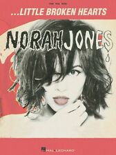 Norah Jones Little Broken Hearts Learn Play POP Blues Piano Guitar Music Book