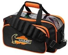 Hammer Black/Orange 2 Ball Tote Bowling Bag