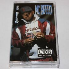 MC Breed 20 Below Cassette Tape Hip Hop Flint MI G Rap Wrap WRA 8109-MC