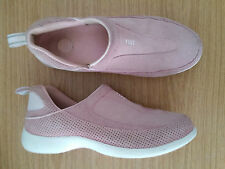 Damen Schuhe Loafers Slipper LandsEnd Gr 39 rosa Leder Top