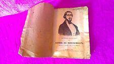 HISTORIA BIOGRAFICA DEL CONDE DE MONTEMOLIN 1849, PRIMERA EDICION