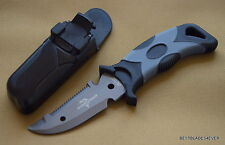 UNITED CUTLERY SCUBA DIVE KNIFE WITH ABS SHEATH AND RUBBER LEG STRAPS