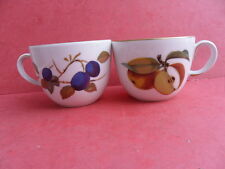 Royal Worcester, Evesham Gold, 2 x Teacups