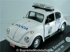 VW VOLKSWAGEN BEETLE POLICIA POLICE 1979 MEXICO MODEL CAR 1/43RD SCALE K8967Q~#~