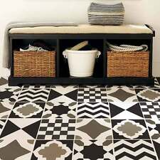 Geometric Tile Stencil Set - Size: SMALL- DIY Home Decor - Reusable Stencils