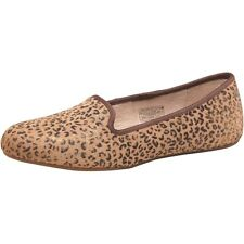 UGG Australia LINEA DONNA alloway Metallico Leopardo VITELLO CAPELLI Pantofole, dimensioni UK4-EU37