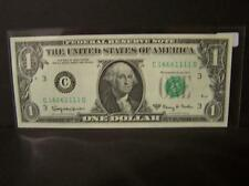 1963A Series $1 Federal Reserve Note. Fancy Serial Number! Lot 237