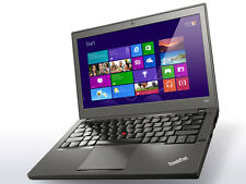 "Lenovo Thinkpad X240 Laptop i7-4600U,8GB RAM,180GB SSD,Backlit KB,12.5"" 720p HD"