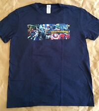 Marvel Contest Of Champions T-Shirt L NYCC Video Game Deadpool Vision Kabam!