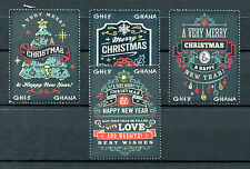 Ghana 2016 MNH Merry Christmas & Happy New Year Ornaments 4v Set Stamps