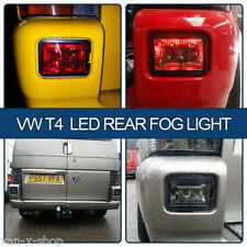 SMOKED LED Rear Fog Lights for VW T4 Transporter Set of 2 BRAND NEW (Van-X)