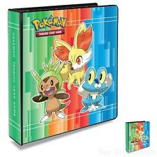 3-Ring Pokemon X & Y Binder with 25 Platinum Ultra-Pro 9-Pocket Pages Cards New