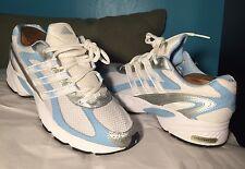 Adidas Litestrike Eva Womens White / Blue Athletic Shoes US 8.5 / UK 7