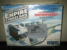 1 RARE HTF VINTAGE COLLECTABLE STAR WARS 1989 LUKE SKYWALKER'S SNOWSPEEDER MODEL