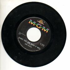 SHEB WOOLEY 45 RPM Record DADDY KISS & MAKE IT WELL / LITTLE BITTY BILBO...Mint-