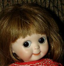 ANTIQUE REPRODUCTION Bisque GOOGLY DOLL Artist Signed KESTNER 221