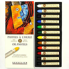 Sennelier Oil Pastel Set - 12 Introductory