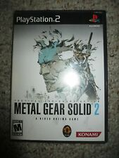 Metal Gear Solid 2: Substance (Sony PlayStation 2, 2003) Complete Essential