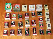 (28) Winnie Pooh Christmas Ornament Hallmark Keepsake Disney & 2 Mugs Willitts