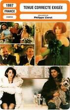 FICHE CINEMA : TENUE CORRECTE EXIGEE - Gamblin,Breitman,Zylberstein,Lioret 1997