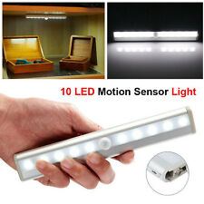 10 LED Self-Stick Closet Light Wireless Night Lamp Motion Sensor Light Kitchen