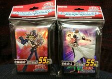 Yu-Gi-Oh Duelist card protector 2 lot kaiba and yugi new shipping free Japan