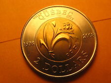 CANADA 2008 $2 COIN 400TH ANNIVERSARY THE CITY OF QUEBEC