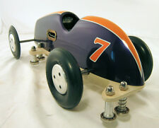 TETHER CAR ORIGINAL McCOY INVADER CHAMPION 60 BLUE AND GOLD RAIL CAR