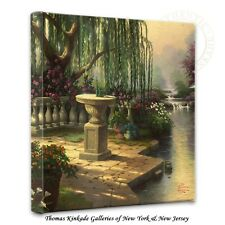 "Thomas Kinkade Wrap - Hour of Prayer - 14"" x 14"" Gallery Wrapped Canvas"