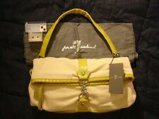 $380 SEVEN 7 FOR ALL MANKIND Fold Over Purse Hobo Messenger Citrine Earrings Lot