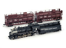 WMC HO H0 Brass FRANK LAMBER COMPANY T-1 FIRE TRAIN 4-6-0 #46 , Custom Painted
