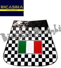 7340 - GUARDABARROS TRASERO CAUCHO CON BANDERA DE ITALIA VESPA 50 125 150