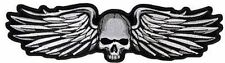 METAL WINGS FUN COOL AWESOME GREAT HIGH QUALITY NEW LARGE BIKER PATCH LRG-0422