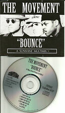 Richard Vission THE MOVEMENT Bounce w/ MIXES & DUB & ACAPPELLA PROMO CD single