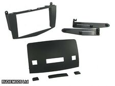 Mercedes C Class W204 Black Double Din Car Stereo Fitting Kit CT23MB15