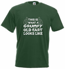 This Is What A Grumpy Fart Looks Like T Shirt Comedy Fathers Day Gift Xmas Tee