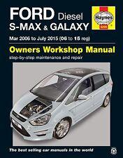 Ford Galaxy Repair Manual Haynes Manual  Workshop Service Manual  2006-2015