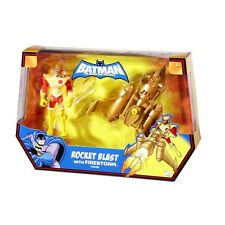 BATMAN_The Brave and The Bold__ROCKET BLAST with FIRESTORM action figure_New_MIP