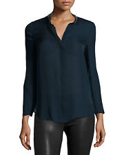 Haute Hippie    Embellished Neck Cowl Back  Silk  Blouse Top   $395.00 size S