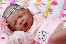 My SWEET Baby Girl! Berenguer, PREEMIE LIFELIKE REBORN DOLL, W PACIFIER, BOTTLE+