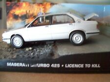 "MASERATI BITURBO 425 from Movie""LICENCE TO KILL"" JAMES BOND 007 1/43 DIORAMA NEW"