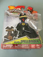 Power Rangers Dino charge Spellbinder villain figure new in sealed pack
