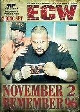 ECW Wrestling: November To Remember 1996 DVD-R, Tazz Sabu Sandman Raven WWE WCW
