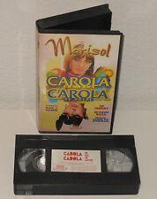 MARISOL Carola de Dia Carola de Noche VHS Pelicula 1969 color descatalogada