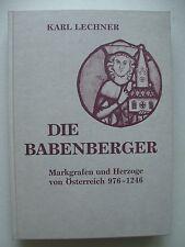 Babenberger Markgrafen Herzöge von Österreich 976-1246 v. 1975