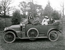 "1915 Family posing in a Siddeley Deasy motor car 14 x 11"" Photo Print"