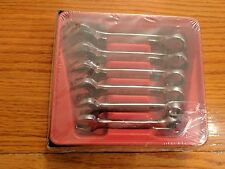 "NEW Snap-on 6 Piece SAE Midget Combination Wrench Set 7/16"" - 3/4""  OXI706B SEAL"
