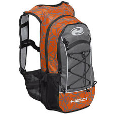 Held To Go Motorcycle Rucksack Orange Waterproof Bag Backpack Motorbike Touring
