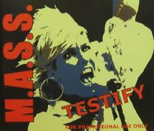 M.A.S.S. - Testify (PROMO CD Single)
